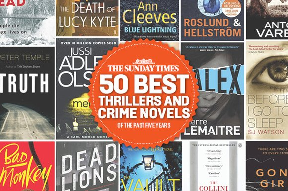 50 Best Thrillers The Sunday Times