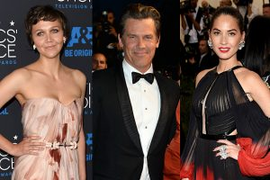 Oscar nominees Josh Brolin, Maggie Gyllenhaal, Olivia Munn