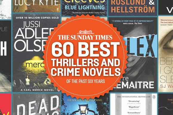 The Sunday Times, 60 Best Thrillers
