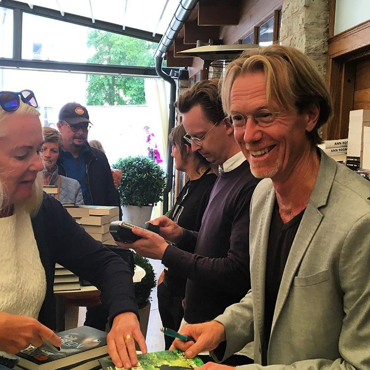 Roslund signing, Crimetime