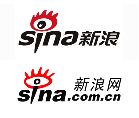 Sina, logo