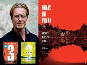 Roslund au Festival Quais du polar Lyon